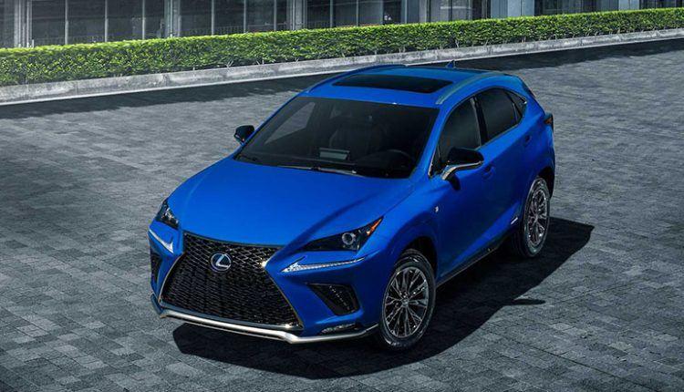 2021 lexus nx 300h f sport black line special edition has